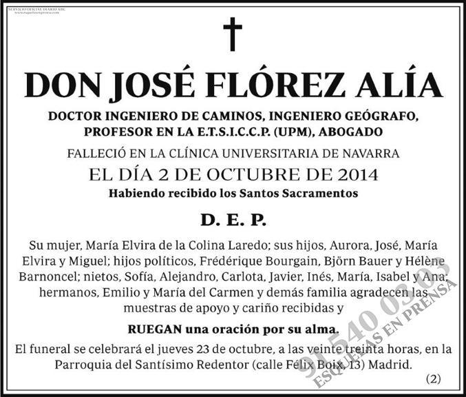 José Flórez Alía